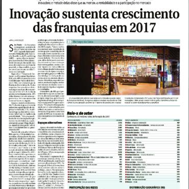 Acqio – Correio Braziliense – Inovação sustenta crescimento das franquias em 2017 – 12/01/2018