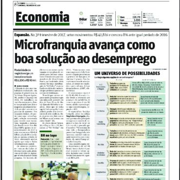 Acqio – Jornal O Tempo – Microfranquia avança como boa solução ao desemprego – 07/01/2018